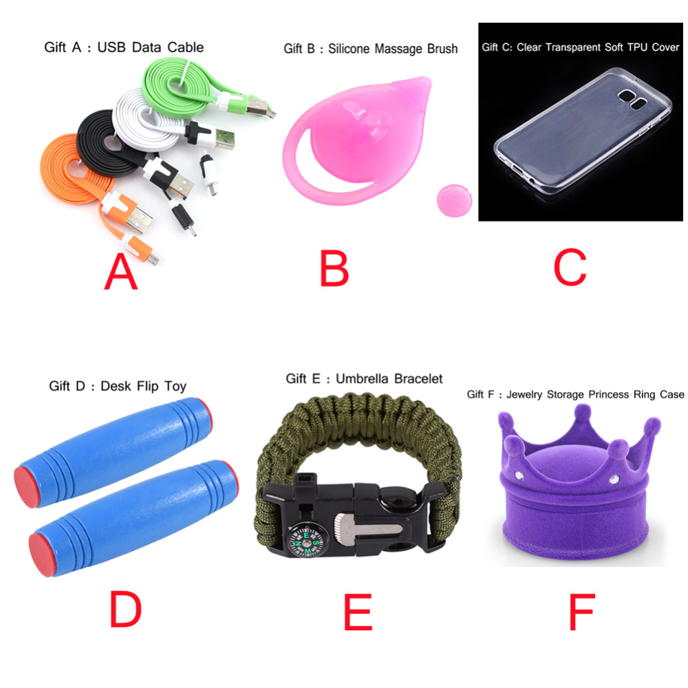 Lucky Package Vip Surprise Gifts Data Cable Silicone Massage Brush Soft Tpu Cover Desk Flip Toy Umbrella Bracelet Ring Case To Ensure Smooth Transmission Tool Parts