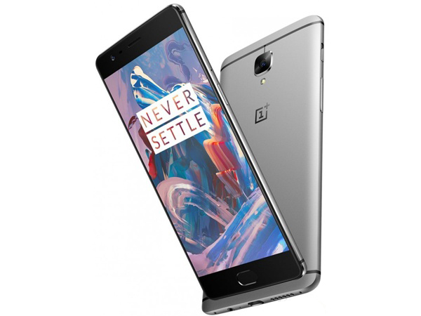 New Unlock Original Version Oneplus 3 Android Smartphone 5.56GB RAM 64GBDual SIM Card Fingerprint 1080x1920 pixels Mobile Phone image