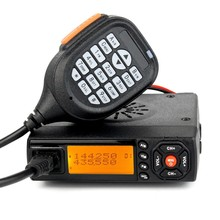 2pcsMini bj-218 baojie radio mobile mini radio 136-174 mhz 400-480 mhz dual band mobile walkie talkie cb radio