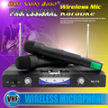 Professional Wireless Microphone System Vocal Dual Handheld Cordless Mic With Receiver For Karaoke Home Party Stage KTV Singing