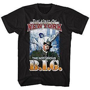 NOTORIOUS BIG camiseta rey de Nueva York oficial mercancía - skystone.me fa24edd9dca