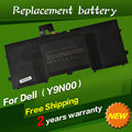 Y9n00 bateria do laptop de substituição para dell xps 13 l321x 13-l321x 13-l322x 12 9q33 12d 13 ultrabook l321x series