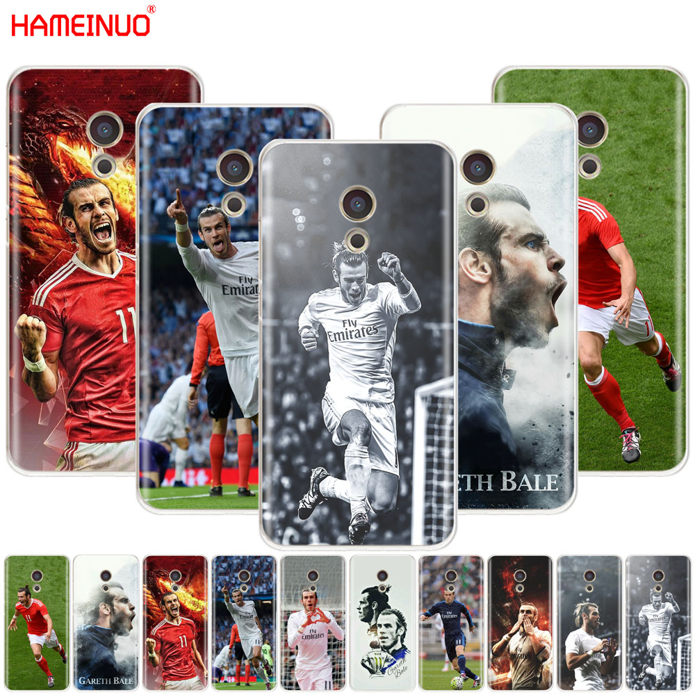 HAMEINUO Gareth Bale Cover phone Case for Meizu M6 M5 M5S M2 M3 M3S MX4 MX5 MX6 PRO 6 5 U10 U20 note plus