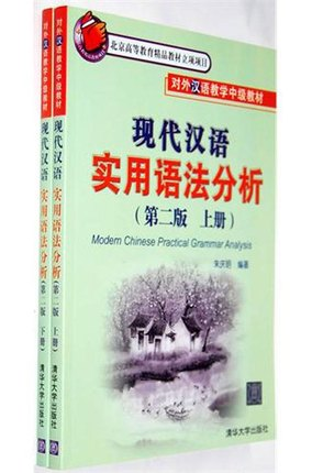 2pcs/set Practical Modern Chinese syntax analysis for Learning Chinese Hanzi Grammar Books  rupesh patel analysis of computer assisted learning material
