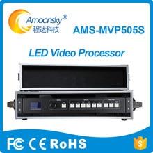 Caso do vôo MVP505S com processador de vídeo SDI levou processador de vídeo para tela led rgb exibição suporte de entrada SDI