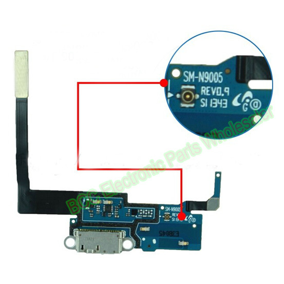 Para samsung galaxy note 3 n9005 n9006 n9008 doca de carregamento do usb charger porto connector flex cable fita original novo