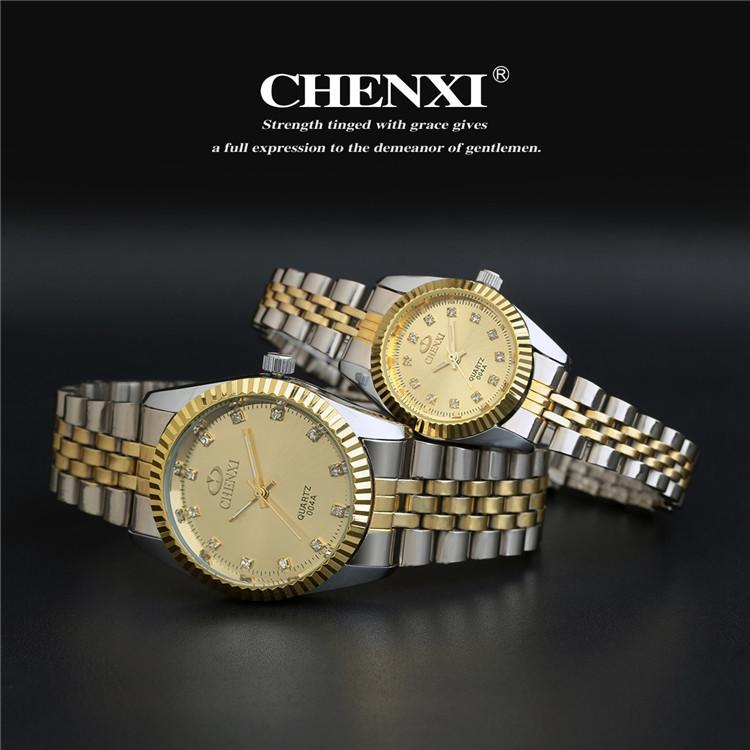 Couples Quartz Watch, Men's & Women's Watches, 30m Waterproof Wristwatches 22
