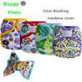 Happy Flute Cloth Diaper Cover Minion Tiny Newborn Print Baby Nappys Cover, Cloth Nappy brands Cover 1pcs pack