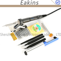 ATTEN SA-50 220V 50W Electric soldering iron ESD Adjustable temperature Welding Solder Soldering Iron Soldering station EU Plug