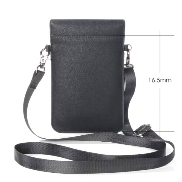 Lady Shoulder Belt Mobile Phone Leather Case Zipper Card Wallet Pouch For Nokia 6 Microsoft Lumia