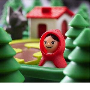 Image 3 - Little Red Riding Hood Deluxeทักษะสมาร์ทเกมกระดานหนังสือภาพสำหรับอายุ4 7 Challengeของเล่นสำหรับครอบครัวเกม