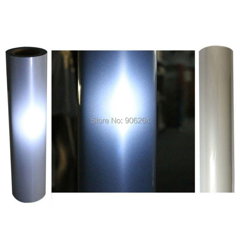 Free Shipping Reflective Heat Transfer Vinyl (50cm widthx100cm length) Heat Transfer Film Vinyl