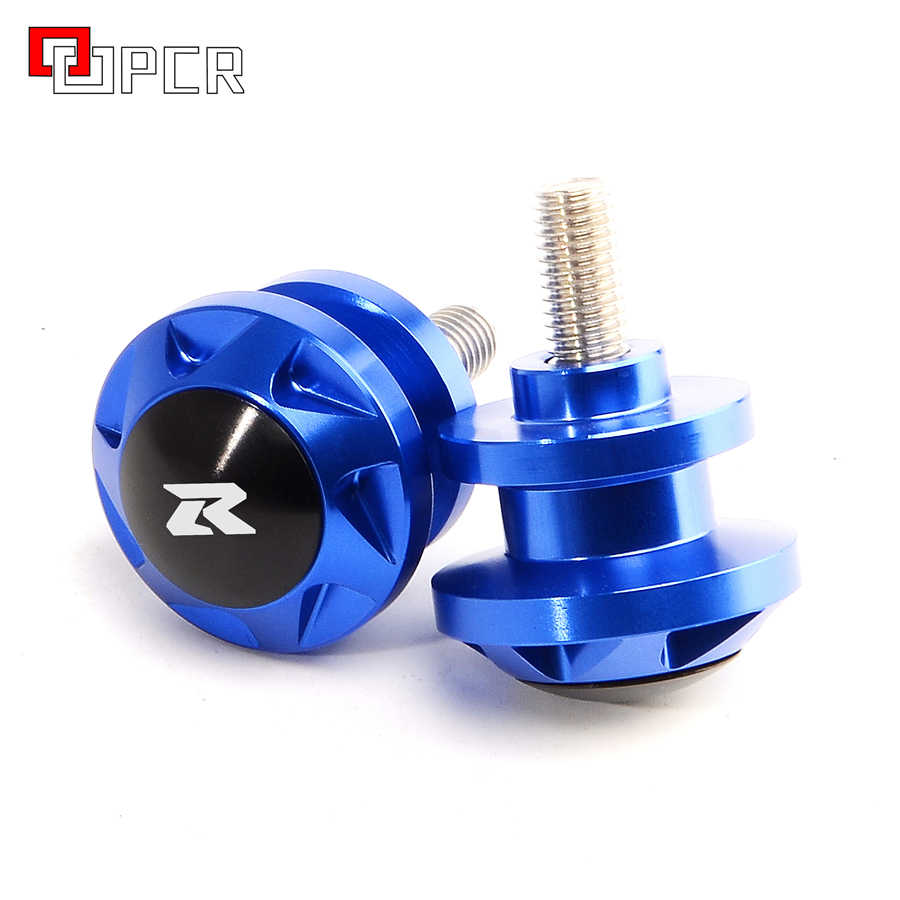 motorcycle accessories New CNC Swingarm Sliders Spools For Suzuki GSXR GSX-R 600 750 1000 K2 K3 K4 K5 K6 K7 K8 K9 K11 GSXR1300