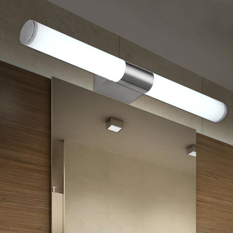 Modern LED Bathroom Wall Lights Lamps long led Tube lights over ...