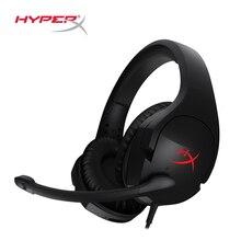 Последние Kingston HyperX Cloud Stinger оголовье легкий комфорт двойной звук игры гарнитура регулируется громкость с микрофоном
