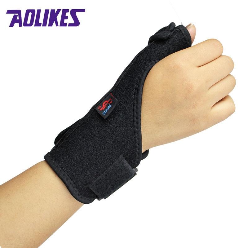 1 Pcs Thumb Sprain Protective Wrist Support Wraps Tendon Sheath Fracture
