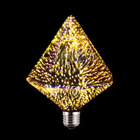 LED bulb 3D Star 220V E27 Colourful Fireworks For Holiday Christmas Decoration Bar LED Lamp Lamparas Bombillas