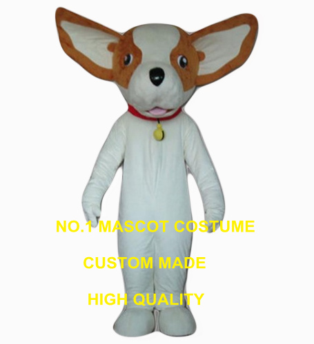 high quality hot sale dog mascot costume wholesale adult size cartoon puppy dog chihuahua costumes carnival fancy 2629