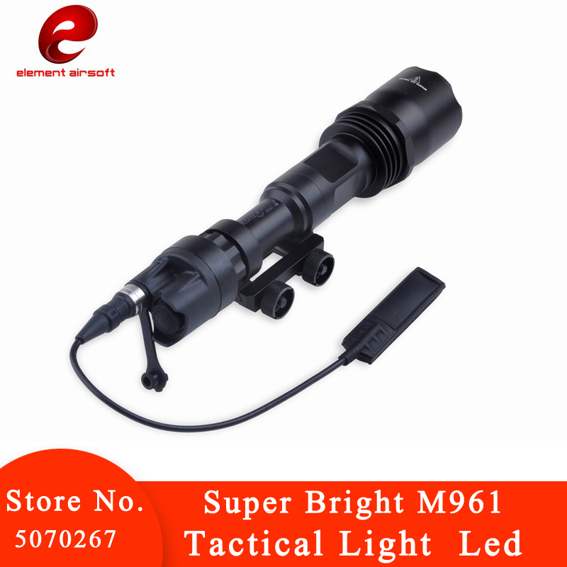 Element SF Tactical Light M961 LED Flash Light Version Bright Tactical Flashlight for Rifle Waterproof Led with Remote Switch(China)