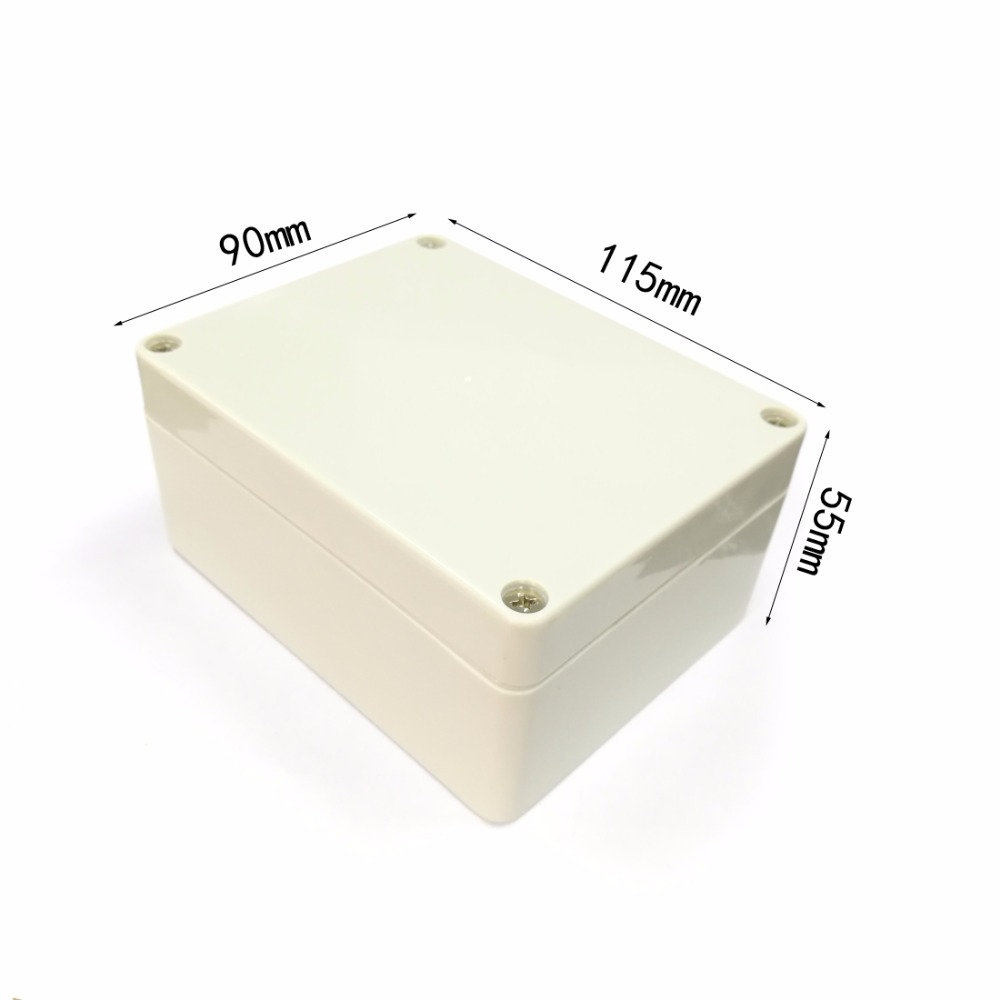 1PC Plastic Enclosure waterproof Project Box Instrument Enclosure 115x90x55mm DIY Electronic Junction case NEW картридж hp q7570a для lj laserjet m5025 15000стр