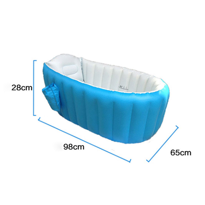 Baby Bathtub Inflatable Bathing Tub Collapsible Air Swimming Pool ...