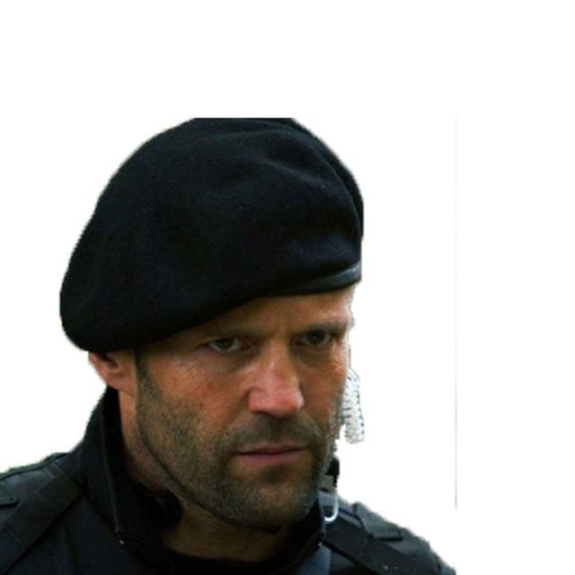 49ee0e0aad846 Lã De Malha De inverno Homens Chapéu Boina Militar Do Exército Soldados Das  Forças Especiais Uniforme