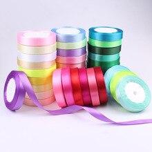 25 ярдов/рулон корсажные атласные ленты для свадьбы рождественской вечеринки украшения wide6mm-40mmDIY ленты для поделок Подарочный материал