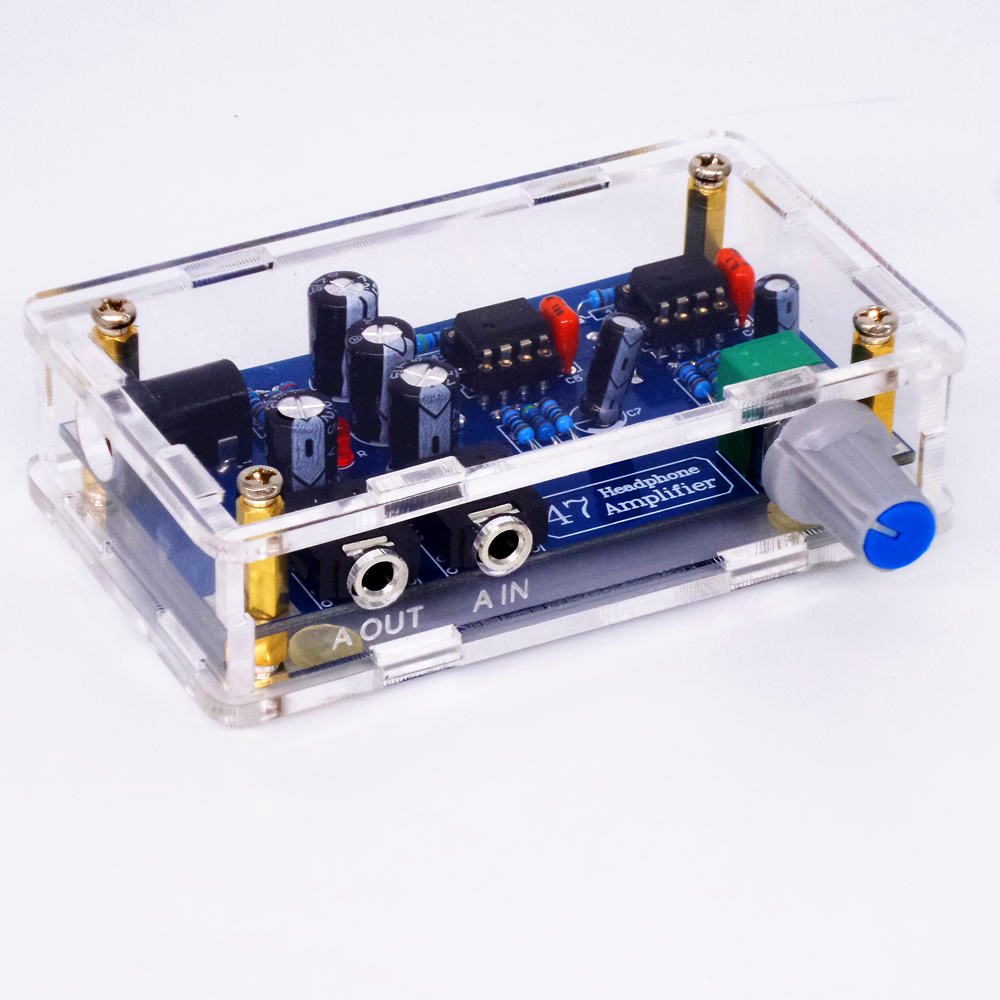 Diy Module For Classic Da47 Headphone Amplifier Circuit Board Kits Induction Cooker Control Boarddouble Sided Pcb Tiancoolkei 47k Single Power Supply Portable Hifi Amp Kit Earphone
