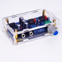 TIANCOOLKEI 47 k Unique Alimentation Portable HIFI Casque Amplificateur PCB AMP DIY Kit pour DA47 Écouteurs Accessoires
