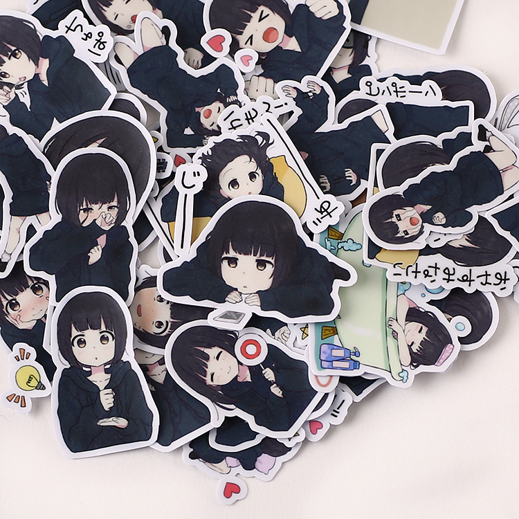 Menhera-chan  Paper Stickers Kawaii-Desu Homemade 1