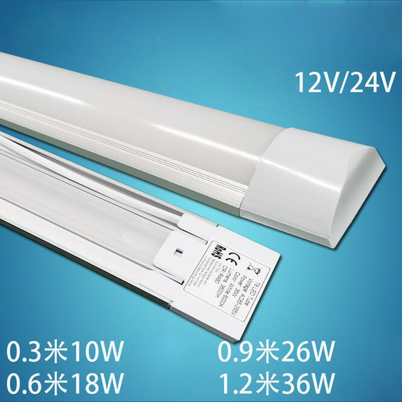 US $287 78 10% OFF|20pcs/lot 2ft 3ft 4ft LED Batten Tube Light Cold White /  Warm Whtie 2835SMD LED Light,AC85 265V T8 Explosion Purification Light-in