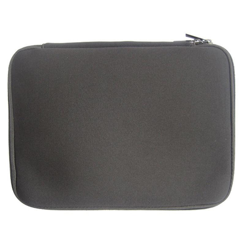Bərk Qara Laptop Notebook Qollu Çanta Su keçirməyən Neopren - Noutbuklar üçün aksesuarlar - Fotoqrafiya 3