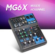 FreeshippingYamaha Смеситель профессиональный Аудио consule MG06X 6 канальный микшер со встроенными эффектами ограничитель 6-канальный микшер