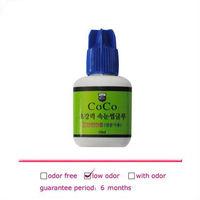 1bottle Fast Drying Black Glue For Eyelash Extension Low Odor Professional Eyelash Glue From Korea No Toxic Non Stimulation