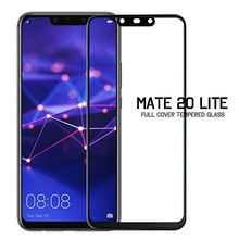 protective glass on the for huawei mate 20 lite glass case cover for huawei mate 20 lite mate20lite mat 20lite lit protect glas(China)