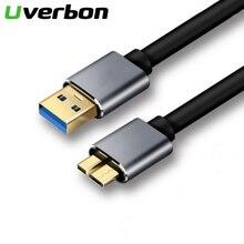 USB 3.0 Micro B для типа А Кабель для синхронизации данных Быстрая скорость Код USB3.0 для внешнего