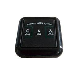"""5 sztuk wodoodporna dzwonek do tabeli kelner rozmówcy bezprzewodowy buzzer obsługi gości  proszę kliknąć na przycisk """" dla klienta pager powołanie dla restauracji K-F3"""