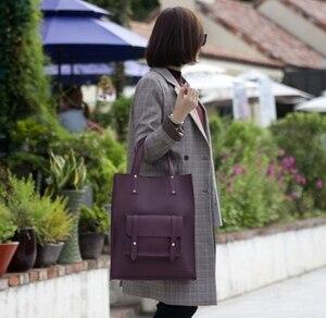 Image 4 - Nieuwe Mode Draagtas Office Lady Werk Lederen Handtassen Grote Hand Tassen Voor Vrouwen 2019 Vrouwelijke City Tassen Shopper Crossbody vrouwelijke