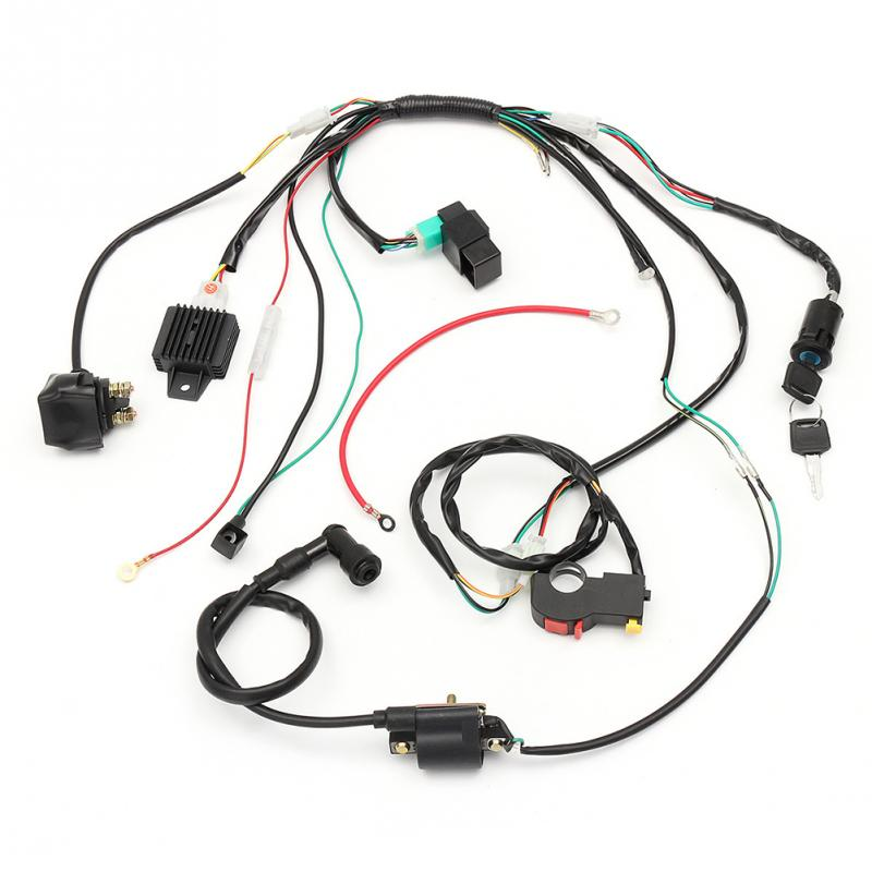 online get cheap complete wiring harness aliexpress com alibaba Wiring Harness Motorcycle complete electric start engine wiring harness loom quad motorcycle wiring harness motorcycle