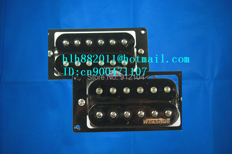 free shipping new electric guitar  double coil open pickup in black made in South Korea  wk-8214-1 belcat bass pickup 5 string humbucker double coil pickup guitar parts accessories black
