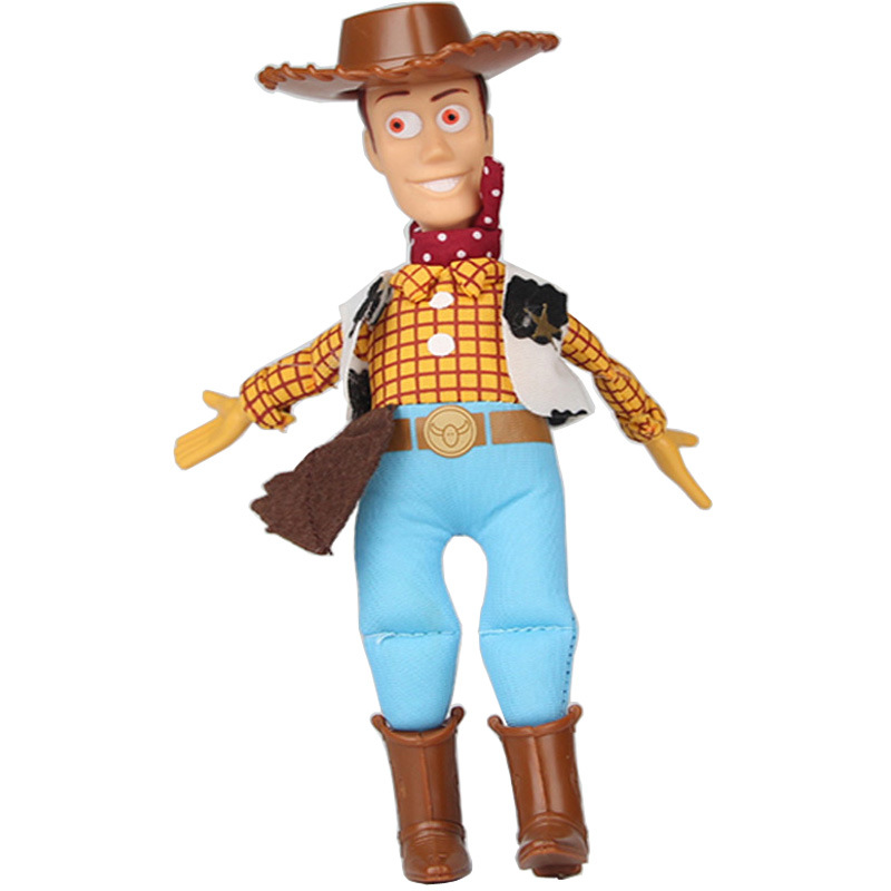 45cm Toy Story 3 Woody Sheriff Stuffed Plush Toys Doll Soft