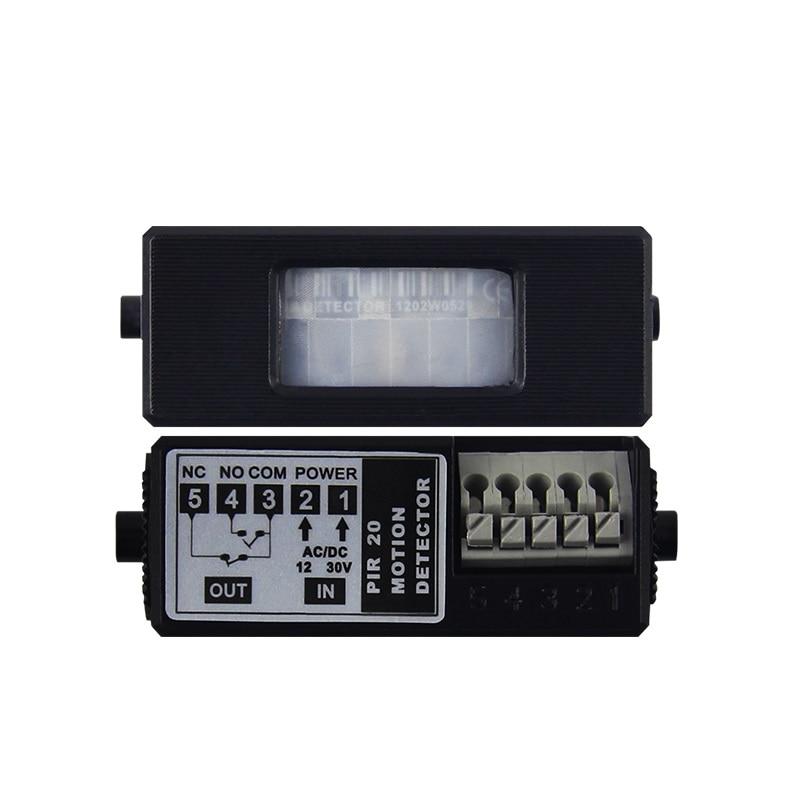 Surface Embedded Passive Infrared Moving Detector Sensor PIR Motion Detector Induction Starter for Auto-doorSurface Embedded Passive Infrared Moving Detector Sensor PIR Motion Detector Induction Starter for Auto-door