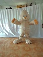 Пенопласт высокого качества костюм плюшевый кролик талисмана Кролик Прогулки Маскировка