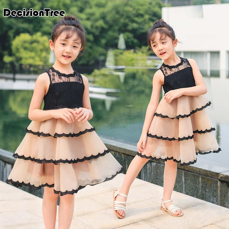 2019 new girls dresses cartoon wings tutu dress for girls kids princess dresses girls clothes robe enfant clothes 3