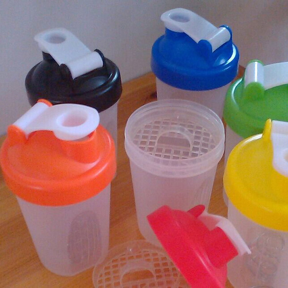 400ml-600ml Mini Cute Protein Shaker Portable Cup Filter for Children And Women Home Travel