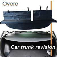 Overe 1Set Car Rear Trunk Cargo Cover For Toyota Corolla Fielder 2015 2016 2017 2018 Black Security Shield Shade Car accessories