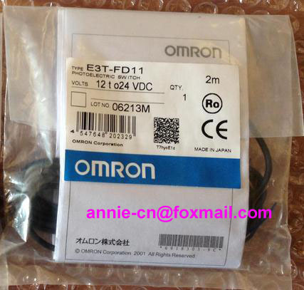 New and original  E3T-FD11, E3T-FD13  OMRON Photoelectric sensor  Photoelectric switch   12-24VDC    2M  цены