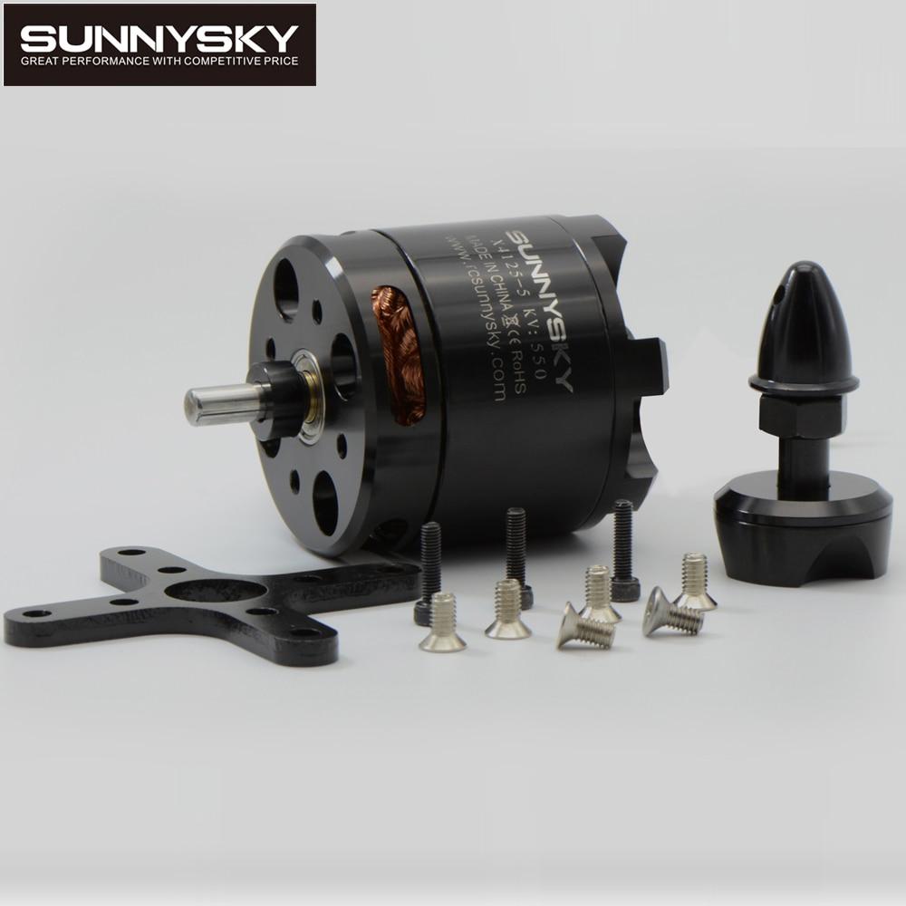 1pcs Newest original SunnySky X4125 465KV/550KV high effectiveness brushless motor for 3D stunt Drone 1pcs original sunnysky x4110s 340kv