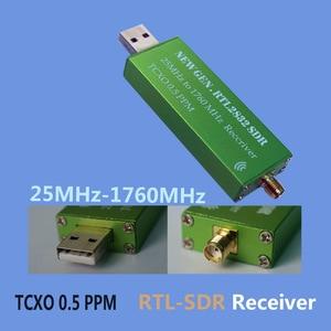 Image 1 - Alta Stabilità 25 MHZ a 1760 MHZ Ricevitore RTL SDR 0.5PPM TXCO Supporto AM/NFM/FM/DSB/ USB/L RTL2382U DVB T RTL SDR Ricevitore