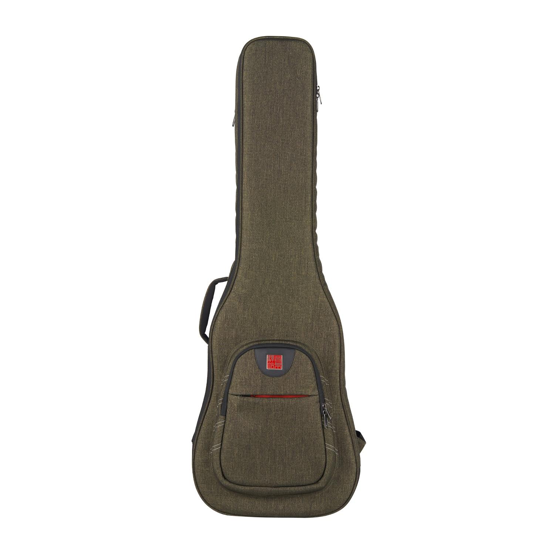 Music Area Electric Bass Gig Bag Waterproof 30mm Cushion 900D Polyester Dark Green Soft Bass Case WIND20 EB 12mm waterproof soprano concert ukulele bag case backpack 23 24 26 inch ukelele beige mini guitar accessories gig pu leather